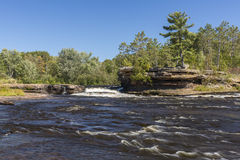 Kettle River Waterfall Royalty Free Stock Image