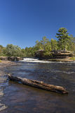 Kettle River Waterfall Royalty Free Stock Photos