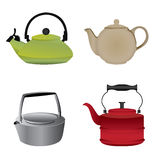Kettle Set One Royalty Free Stock Images