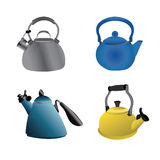 Kettle Set Two Stock Image