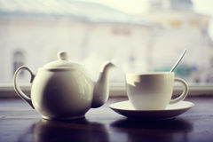 Kettle for tea Stock Image