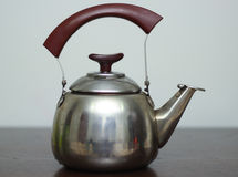 Kettle with tea royalty free stock photo