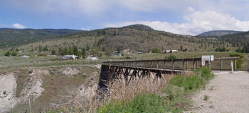 Kettle Valley Rail Trail Royalty Free Stock Images