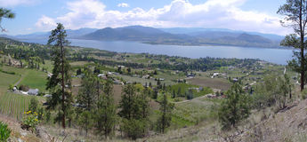 Kettle Valley Rail Trail Royalty Free Stock Photography
