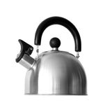 Kettle with whistle Royalty Free Stock Images