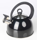 Kettle with whistle on a background. Stock Photography