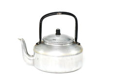 Kettle on white background Royalty Free Stock Photography