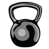 Kettlebell Clipart Vector. Kettlebell Fitness Equipment Clipart Vector Royalty Free Stock Image