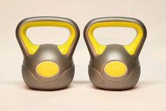 Kettlebell. / Inscription on the weighing problem: 4 kg vector illustration