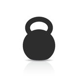 Kettlebell vector icon Royalty Free Stock Photo