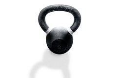 Kettlebell on a white background. Iron kettlebell on a white background Royalty Free Stock Photo
