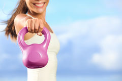 Kettlebells Royalty Free Stock Images