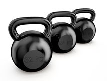 Kettlebells Royalty Free Stock Image