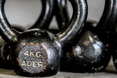 Kettlebells Royalty Free Stock Photography