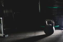 Kettlebells vikter fotografering för bildbyråer