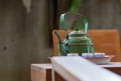 Kettlekettle, с древесиной, Стоковое Фото