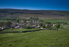 Kettlewell. View over Kettlewell, Yorkshire Dales Stock Photos