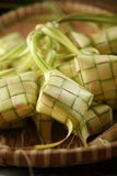 Ketupat. Malaysian malay traditional rice dumpling Royalty Free Stock Images