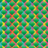 Ketupat diamentowego kształta bezszwowy wzór Obrazy Stock