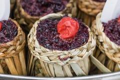 Ketupat - glutinous rice Royalty Free Stock Photo