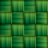 Ketupat (rice dumpling) texture. Woven palm leaf. Seamless background. Stock Photography