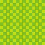 Ketupat Seamless Pattern, Idul Fitri, Green Texture Background vector illustration