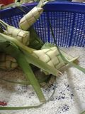 KETUPAT : Traditional food of malaysia Royalty Free Stock Image