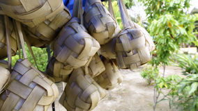 Ketupat which has been boiled Stock Image