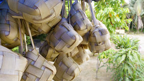 Ketupat which has been boiled Royalty Free Stock Images