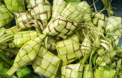 Ketupatzakken Stock Foto's