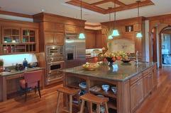 Keuken 2 van de luxe Royalty-vrije Stock Foto's
