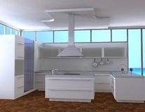 Keuken vector illustratie