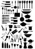 Keuken 7 stock illustratie