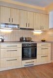 Keuken het binnenlandse koken Stock Fotografie