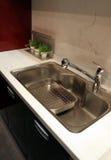 Keuken - huisbinnenland Royalty-vrije Stock Foto