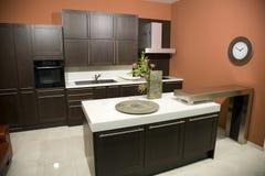 Keuken interior2 Stock Afbeeldingen