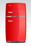 Keuken - koelbox, ijskast, koelkast Stock Foto