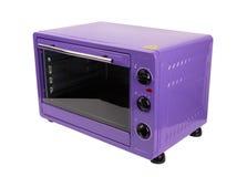 Keuken purpere oven royalty-vrije stock afbeelding