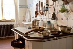 Keuken van 19de eeuw Stock Afbeeldingen