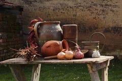 Keuken van oude tijden royalty-vrije stock fotografie