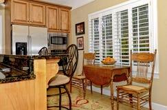 Keukengebied van een Huis stock afbeelding