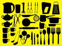 Keukengereedschap Royalty-vrije Stock Foto's