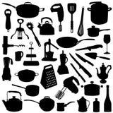 Keukengereedschap Royalty-vrije Stock Afbeeldingen