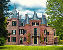 Keukenhof castle, Holland Stock Photography