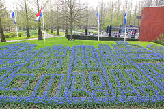 Keukenhof - Garden of Europe, Netherlands Royalty Free Stock Photos