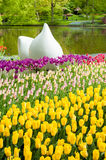 Keukenhof Garden, Holland. Keukenhof Garden in springtime, Netherlands Stock Photo