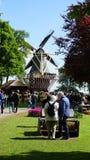 Keukenhof, Paesi Bassi, Olanda; 11/05/2019: Paesaggio della molla di stordimento, giardino famoso di Keukenhof con i tulipani fre immagini stock