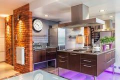 Keukenmeubilair royalty-vrije stock foto