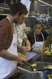 Keukenschool in Italië Royalty-vrije Stock Afbeeldingen