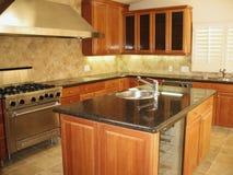 Keukentellers stock afbeeldingen